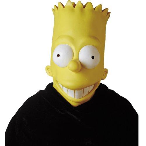 Disguise Inc. Bart Simpson Vinyl Oversized Mask Adult One Size 2049-06-I