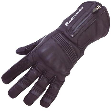 Nouveau Spada moto cuir gants Prestige-Pro étanche noir