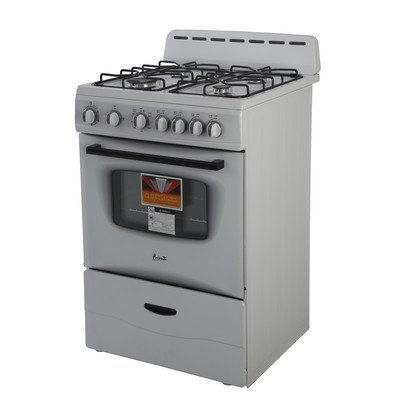 AVANTI-GR2414CW-Gas-Range-Sealed-Burners-24-White