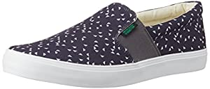 United Colors of Benetton Men's Canvas Sneakers