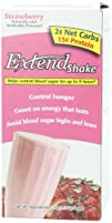 ExtendShake Strawberry 5-Count Servings Net Wt. 5.65 oz