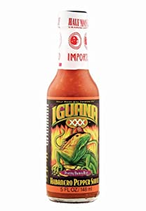 Iguana Xxx Habanero Pepper Sauce - 5 Oz from Half Moon Bay Trading