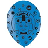 Amscan International 27.5 cm Thomas and Friends All Over Print Latex Balloons