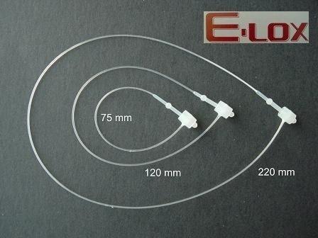 Fils de sécurité banok e-lOX polypropylène 75 mm (10.000 fils de sécurité)
