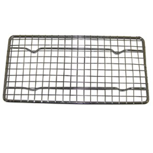 Heavy-Duty Cooling Rack, Cooling Racks, Wire Pan Grade, Commercial grade, Oven-safe, Chrome, 4¼ x 8? Inches, Set of 2 pkjg gb220 gas smokeless barbecue oven kfc888 for commercial products