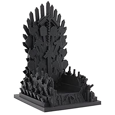 "3D Printed Throne Parody - Minecraft Inspired - Goes with 4"" Action Figure Toys from EnderToys"