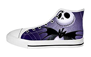 Women's High Top Full Canvas Upper Shoes Soft Inner Cool Jack Design