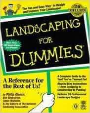 Landscaping for dummies philip et al giroux for Landscaping for dummies