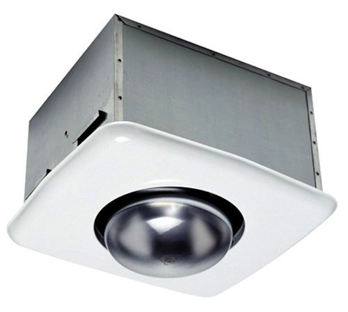 Usi Electric Bf-704Hb Bath Exhaust Fan With Custom-Designed Motor And Heat Bulb Attachment, 70 Cfm