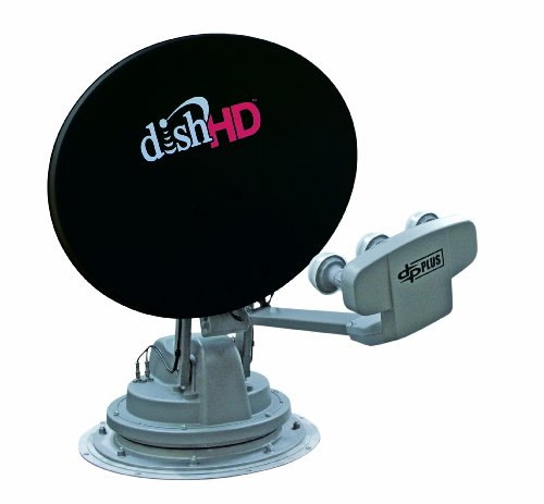 Winegard SK-1000 TRAV'LER Gray/Black DISH Multi-Satellite TV Antenna