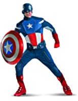 Disguise Captain America Avengers Theatrical Adult Costume