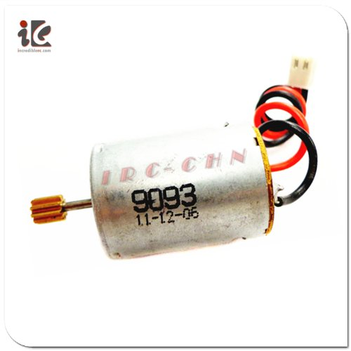 Red Wire Blade Main Motor With Mount For Double Horse 9053 Gyro Helicopter