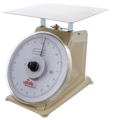 Update International (UP-75R) 5 Lb Analog Portion Control Scale w/Rotating Dial by food service warehouse
