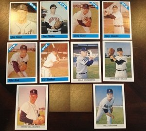 1979 1983 Fritsch One Year Winners Detroit Tigers Team Set 10 Cards Alan Koch MINT by Other