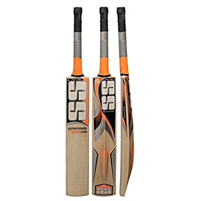 SS Super Power Kashmir Willow Cricket Bat Size SH