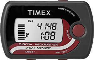 Timex Slim Pocket Pedometer Steps, Distance and Calorie Burned