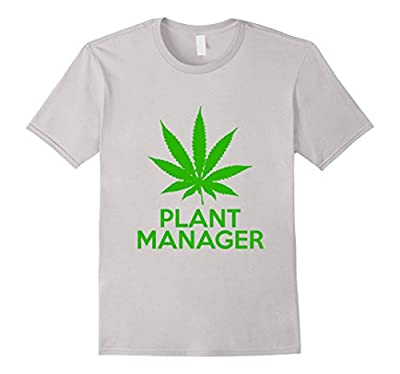 Cannabis Plant Manager T-Shirt