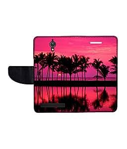 KolorEdge Printed Flip Cover For Asus Zenfone C -Multicolor (47KeMLogo10778ZenC)