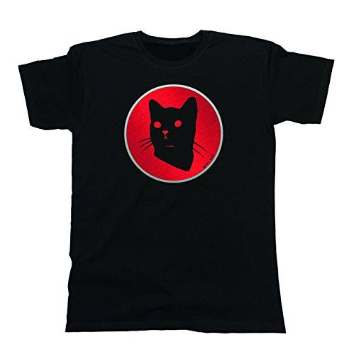 Buzz Shirts -  T-shirt - Maniche corte  - Uomo Black (American Wirehair) XXX-Large