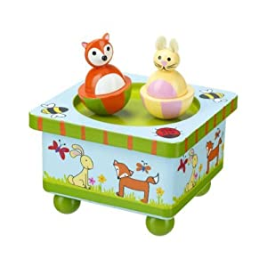 Woodland Friends - Wooden Music Box by Orange Tree Toys