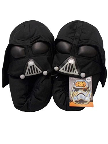 Pantofole moppine bambino uomo Star Wars guerre stellari *22600-37-39-nero