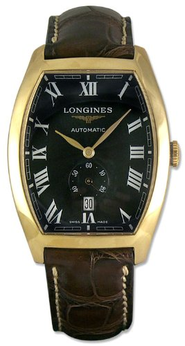 Longines Evidenza 18kt Gold Mens Watch L2.642.6.51.2