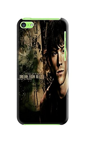 Fashion E-Mall Coolest TPU Logo case Top (Supernatural) iphone5c Designer Cover