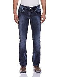 Yellow Jeans Men's Fashion Slim Jeans (PLAYBOY 613_34W x 34L_Blue)