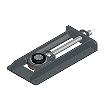 "Sealmaster STH-47-12 Side Mounted Take-Up Unit, Style ""H"", Regreasable, Setscrew Locking Collar, Felt Seals, Steel Frame, 2-15/16"" Bore , 12"" Travel,"