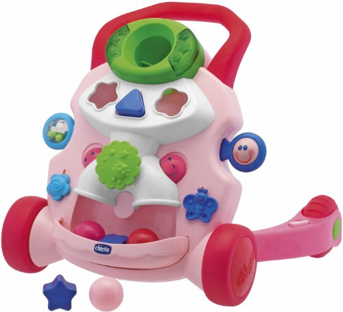 Chicco Baby Steps Activity Walker Pink