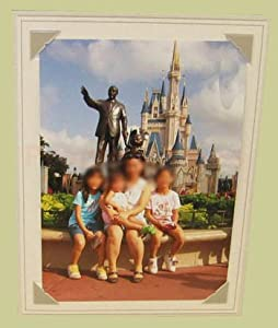 BROADWAY EASEL GRAY 8x12 Paper Picture Frames