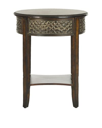 Safavieh Howard Side Table, Dark Brown