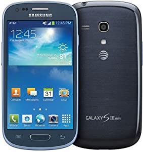 Samsung Galaxy S3 Mini G730a 8GB 4G LTE AT&T Unlocked GSM Android Smartphone - Blue