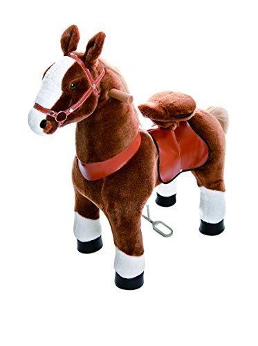 PonyCycle Medium Horse, Brown/White