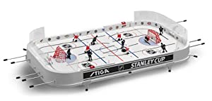 NHL Stanley Cup Rod Hockey Table Game - New Jersey Devils & Columbus Blue Jackets by Stiga Sports
