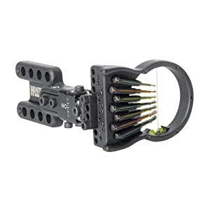 Spot-Hogg Archery Wrapped Hogg-It Hunter 7 Pin Right Hand Large Guard .019 Sight by Spot Hogg