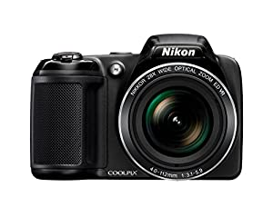 Nikon Coolpix L340 Digital Camera-black