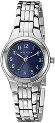 Anne Klein Women's 10/5491BLSV Easy To Read Dial Silver-Tone Bracelet Watch
