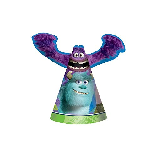 Monsters University Inc. Cone Hats (8ct)