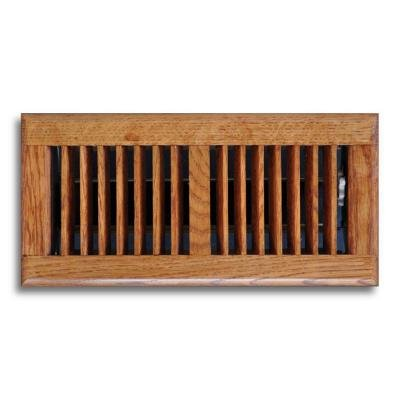 T.a. Industries 04 In. X 12 In. Oak Floor Diffuser Dark Finished (Floor Register Dark Wood compare prices)