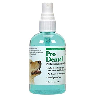 Top Performance Pro Dental Professional Spray for Dogs and Cats 4 Oz.