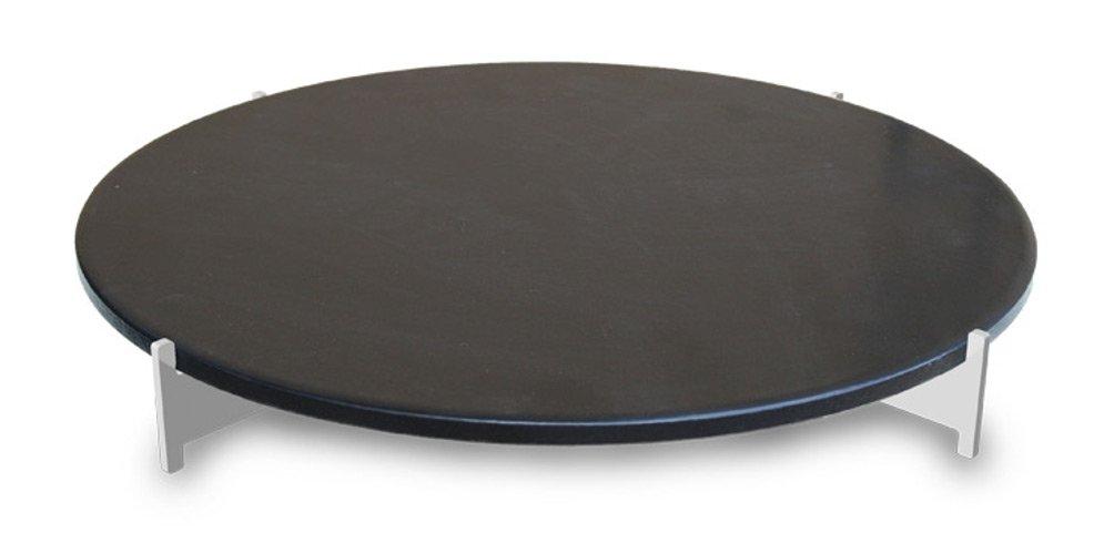 LotusGrill XL Pizzastein-Set XL! Speziell entwickelt für den rauchfreien Holzkohlegrill/Tischgrill günstig bestellen