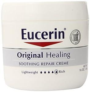 Eucerin Original Healing Soothing Repair Creme, 16 oz., (Pack of 2)
