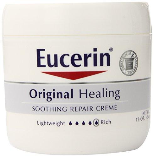 Eucerin优色林经典产品,舒缓修复保湿霜,454g * 2瓶