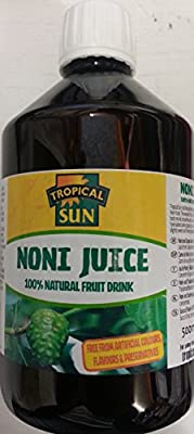 Tropical Sun Noni Juice 100% Natural Fruit Drink 500ml by GPC