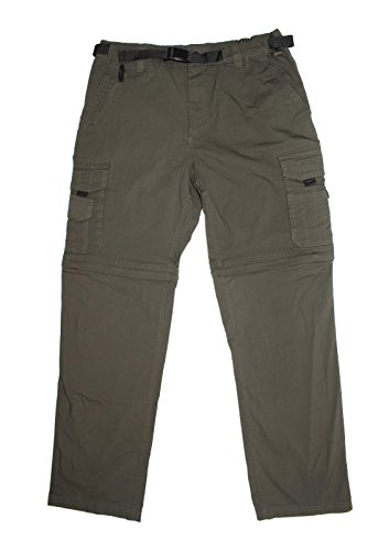 BC Clothing Men's Convertible Cargo Hiking Pants Shorts (Medium X 30, Army Green) (Bc Clothing compare prices)
