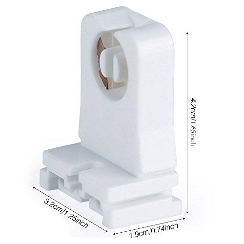 20 pack kedsum ul listed non shunted turn type t8 lamp. Black Bedroom Furniture Sets. Home Design Ideas