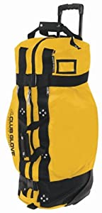 Club Glove Rolling Duffle 2 Sungold Xl by Club Glove