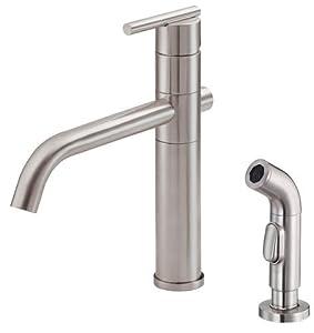 Danze d405558ss parma single handle kitchen faucet c cap for Kitchen faucet recommendations