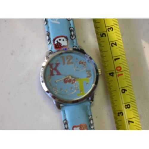 Hello Kitty Quartz Watch Blue Color